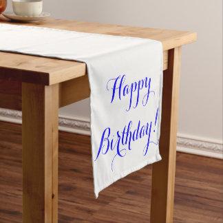 Happy Birthday Table Runner