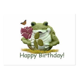 Happy Birthday Tag Large Business Card
