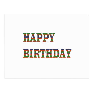 HAPPY BIRTHDAY TEXT :  HappyBIRTHDAY lowprice GIFT Post Cards