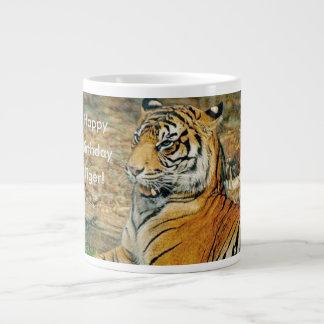 Happy Birthday Tiger Giant Coffee Mug