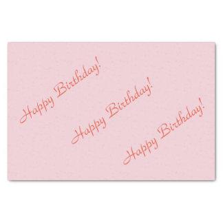 Happy Birthday! Tissue Paper
