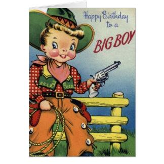 Happy Birthday To a Big Boy Card