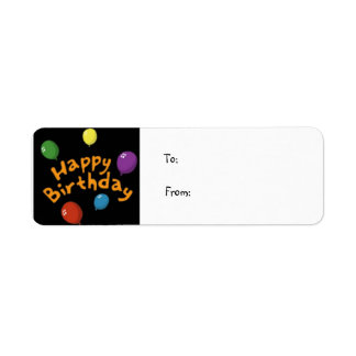 Happy_birthday, To:From: Return Address Label