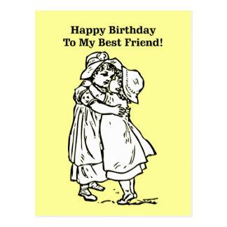 Happy Birthday to my best friend! Postcard
