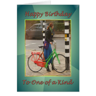 Happy Birthday to One of a Kind Card