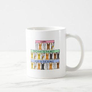 Happy Birthday to the Best Aunt Ever. Coffee Mug
