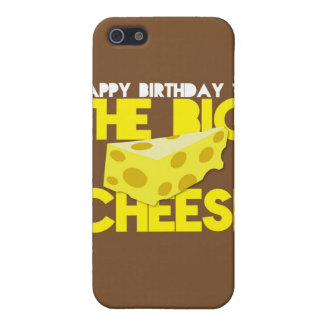 Happy Birthday to the BIG CHEESE iPhone 5/5S Case