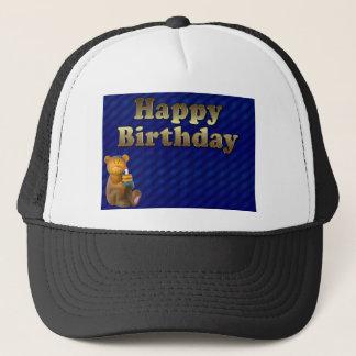 happy-birthday trucker hat