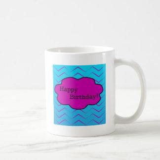 Happy Birthday Unique Purple Wallpaper Cloud Coffee Mug