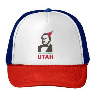 Happy Birthday Utah Hat