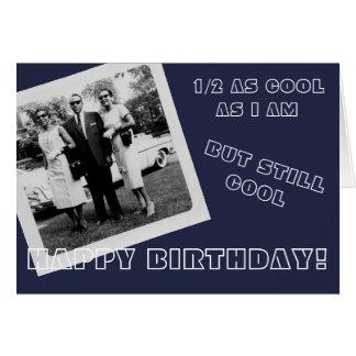 Happy Birthday Vintage Cool Black Man w/ 2 Ladies Card