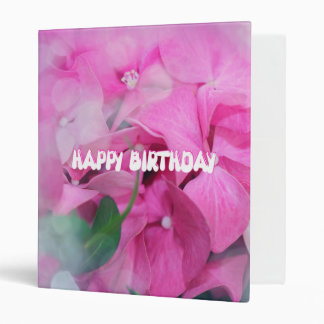 happy birthday vinyl binders