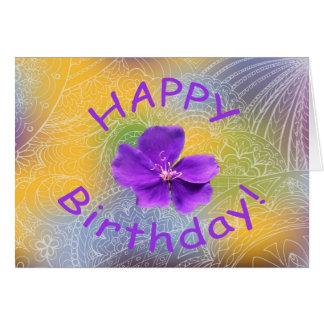 happy birthday violet1 card
