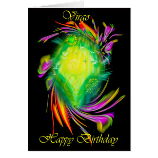 Happy Birthday Virgo - virgin Card