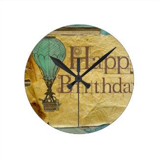 Happy-Birthday Wall Clock