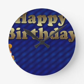 happy-birthday wallclock