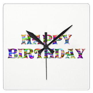 Happy Birthday Wallclocks