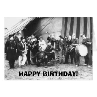 Happy Birthday - We Hired a Band - Greeting Card