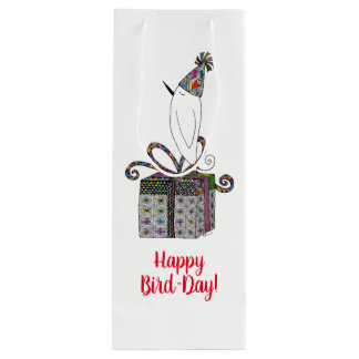 Happy Birthday Wine or Gift Bag