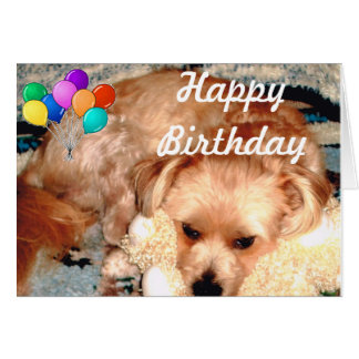 Happy Birthday with Joey Note Card