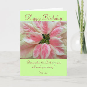 Scripture Verse Birthday Cards