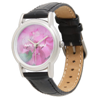 happy birthday wrist watches