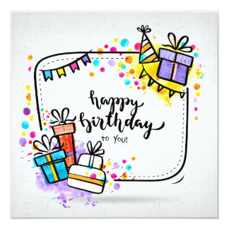 Happy Birthday You the You Card