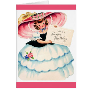 Happy Birthday - Young Girl Card