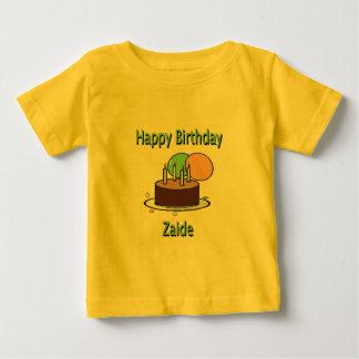 Happy Birthday Zaide Yiddish Grandpa Birthday Desi Baby T-Shirt