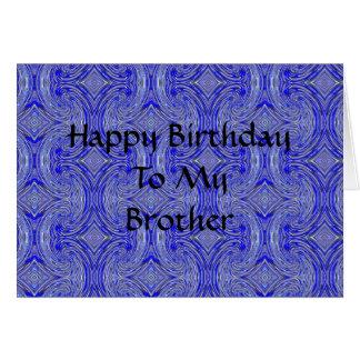 Happy BirthdayTo MyBrother Card