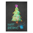 Happy Birthmas Birthday on Christmas Birthday Card
