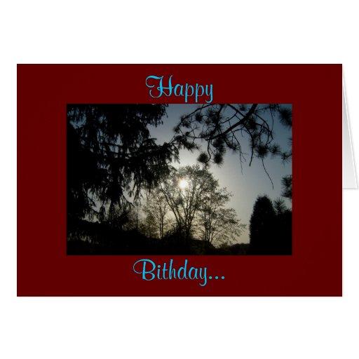 Happy, Bithday... Card