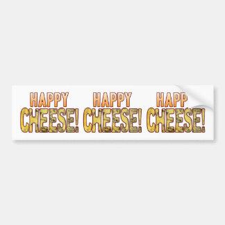 Happy Blue Cheese Bumper Sticker