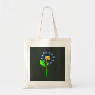 Happy blue flower bag