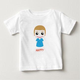 Happy Blue Kid vector T-Shirt