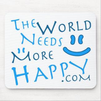 Happy-Blue Mouse Pad