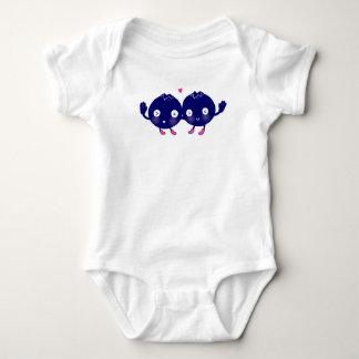 Happy Blueberry BFFs Baby Bodysuit