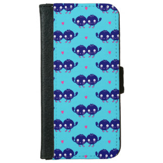 Happy Blueberry BFFs iPhone 6 Wallet Case