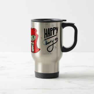 Happy Body & Bath Bubbles Travel Mug
