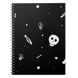 Happy Bones Spiral Notebook