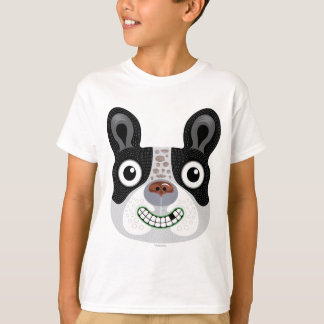 Happy boston terrier dog tshirt