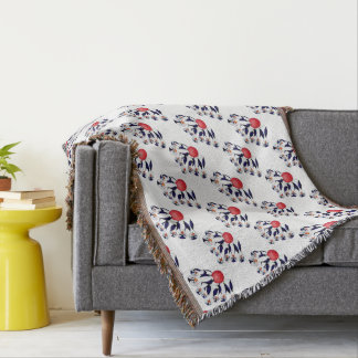 Happy Bowling by The Happy Juul Company Throw Blanket