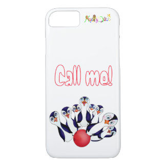 Happy Bowling & Penguinpins by The Happy Juul Comp Case-Mate iPhone Case