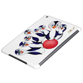 Happy Bowling & Penguinpins by The Happy Juul Comp iPad Air Cover