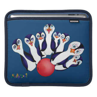 Happy Bowling & Penguinpins by The Happy Juul Comp iPad Sleeve