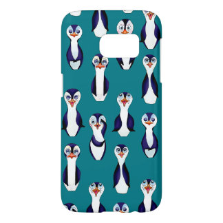 Happy Bowling & Penguinpins by The Happy Juul Comp Samsung Galaxy S7 Case