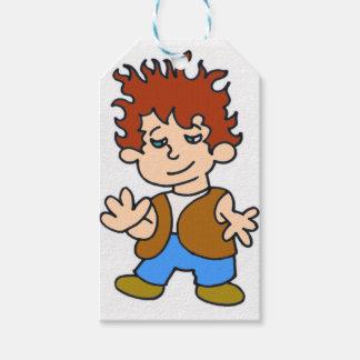 Happy boy gift tags