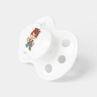 Happy boy pacifier