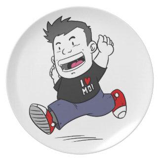 Happy Boy Plate