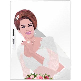 HAPPY BRIDE DRY ERASE BOARD